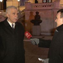 Prof. dr. sc. Mladen Vedriš i Dalibor Špadina (Foto: Dnevnik.hr)