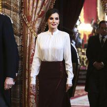 Letizia u maksi suknji Felipea Varele