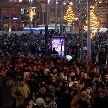 Prosvjed protiv Vučića (Foto: Dnevnik.hr) - 4