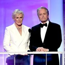 Glenn Close i Michael Douglas (Foto: Getty Images)