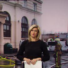 Požar u sauni Esplanade (Video: vijesti u 17h)