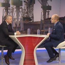 Ministar gospodarstva Darko Horvat i Mislav Bago (Foto: Dnevnik.hr)