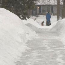 Polarna zima zahvatila je sjeverne države SAD-a (Foto: APTN) - 1