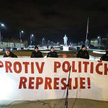 Prosvjed u Zagrebu (Foto: Pixsell, Robert Anic) - 3