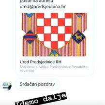 Nika Antolos i predsjednica Kolinda Grabar-Kitarović (Foto: Instagram)