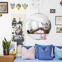 Visilice i lampe u obliku kugle veliki su trend u 2019. godini