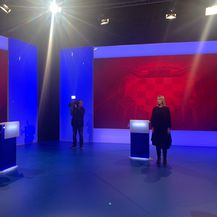 Pripreme za sučeljavanje predsjedničkih kandidata na Novoj TV - 2