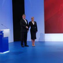 Sučeljavanje Kolinde Grabar-Kitarović i Zorana Milanovića na Novoj TV