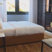 Krevet u apartmanu
