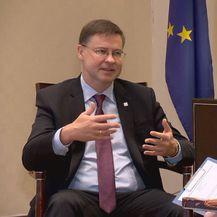 Potpredsjednik Europske komisije Valdis Dombrovskis i Danijel Vrbota - 2