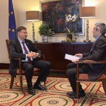 Potpredsjednik Europske komisije Valdis Dombrovskis i Danijel Vrbota - 3