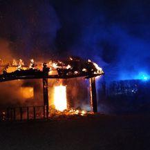 Požar doma Zelena oaza u Andraševcu