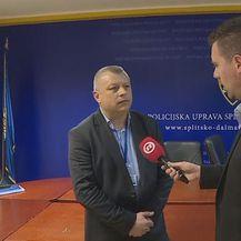 Ante Matković, načelnik Sektora kriminalističke policije, i Mario Jurič