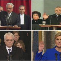 Inauguracije dosadašnjih predsjednika