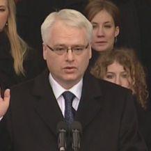 Inauguracija Ive Josipovića