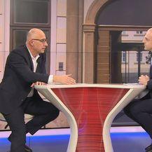 Predsjednik HNS-a Ivan Vrdoljak i Mislav Bago - 1