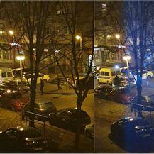 Policija na zagrebačkim Srednjacima