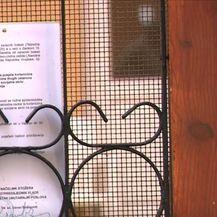 Odluka o zabrani posjeta domu Sv. Frane