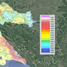 Najsigurnija i najopasnija mjesta kada su u pitanju potresi u Hrvatskoj