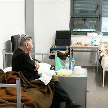 Centar za zbrinjavanje ljudi ostalih bez kuća u potresu u Sisku