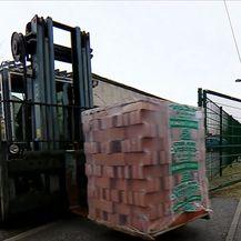 Isporuka građevinskog materijala u Banovinu