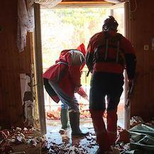 HGSS nakon poplave pomaže u Kokorićima