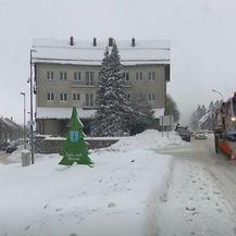 Snijeg na cesti - 2