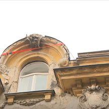 Zgrada u Zagrebu koju je oštetio potres - 1