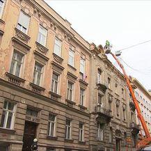 Zgrada u Zagrebu koju je oštetio potres - 3