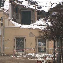 Oštećenja od potresa u Petrinji