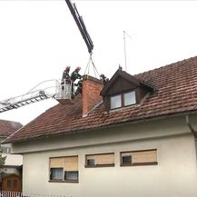 Vatrogasci saniraju štetu nakon potresa u Banovini - 1