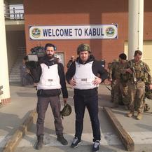 Snimanje u Kabulu