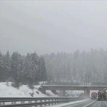 Sniježna mećava u prometu - 2