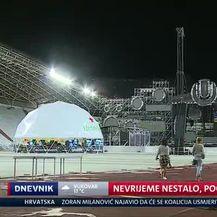 Nevrijeme nestalo, počela Ultra (Video: Dnevnik Nove TV)