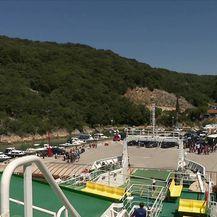 Trajekti - jedina poveznica otoka sa kopnom (Video: Vijesti u 17h)