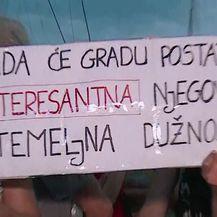 S prosvjeda Split gori (Video: Dnevnik.hr)