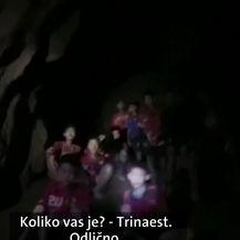 Spašavanje iz potopljene špilje na Tajlandu (Video: Dnevnik Nove TV)