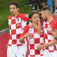 Slavlje Modrića i suigrača (Foto: AFP)