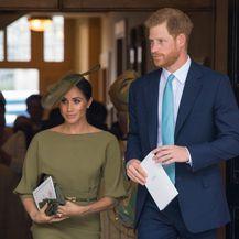 Meghan i Harry na krštenju princa Louisa