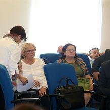 Mladen Barišić, Nevenka Jurak i Branka Pavošević (Foto: Dalibor Urukalovic/PIXSELL)