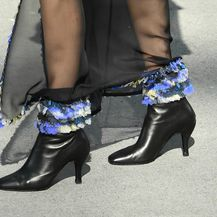 Gležnjače modne kuće Chanel ukrašene šljokicama
