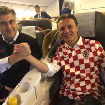 Plenković i Jandroković na putu za Moskvu (Foto: Vlada RH)