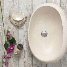 Prirodni kamen oplemenit će izgled kupaonice