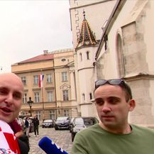 Političare zahvatila nogometna euforija (Video: Dnevnik Nove TV)