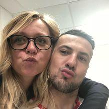 Iva Olivari, Danijel Subašić (FOTO: Instagram)