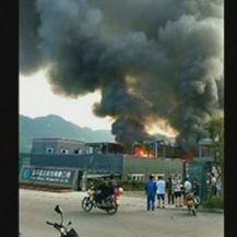 Eksplozija u Kini (Screenhot: reuters)