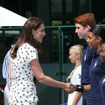Catherine i Meghan na Wimbledonu