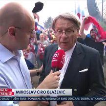 Ćiro Blažević o povijesnom uspjehu Vatrenih (Video: Dnevnik Nove TV)