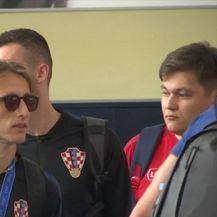 Vatreni poletjeli iz Moskve za Hrvatsku (Video: Specijal Nove TV)