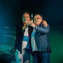Željko Joksimović i Halid Bešlić (Foto: Laško)